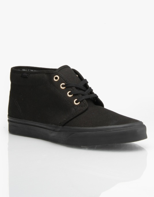 Vans Chukka Boot - (Gold Mono) Black