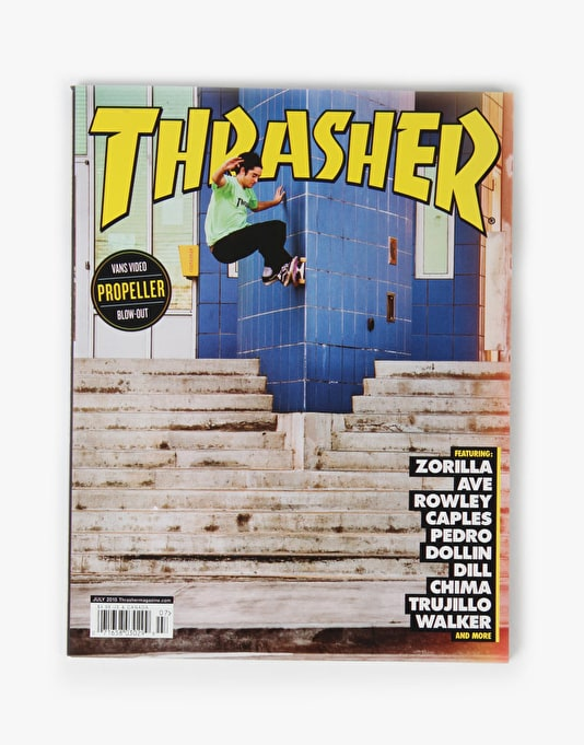 Thrasher Magazine Issue 420 July 2015