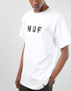 HUF Original Logo T-Shirt - White