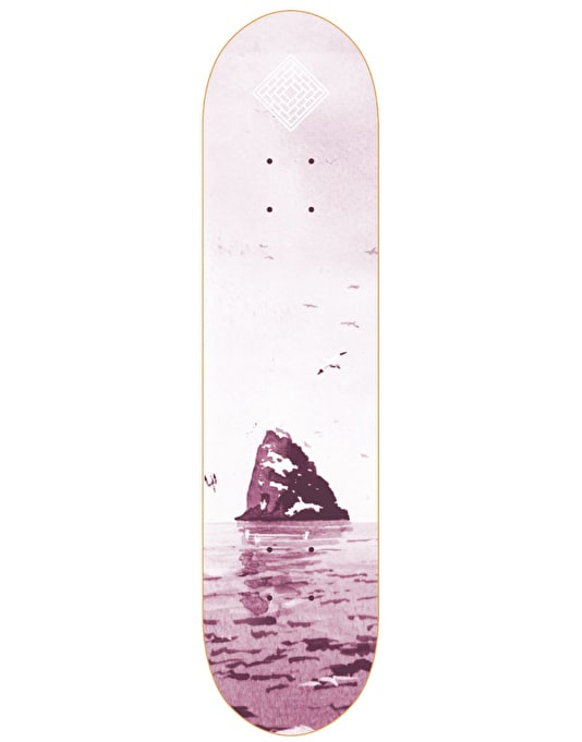 The National Skateboard Co. Black Rock Team Deck - 8.375""