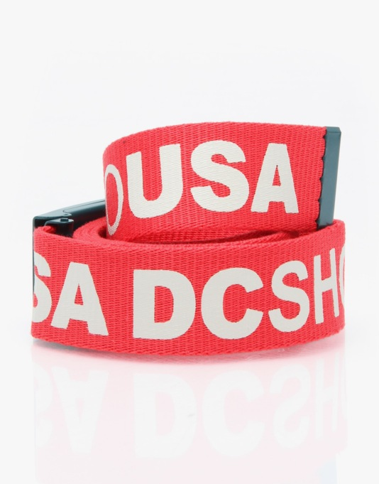 DC Chinook 5 Web Belt - Athletic Red