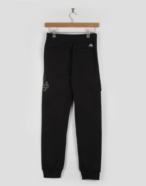 Nike SB Big Pocket Boys Sweatpants - Black