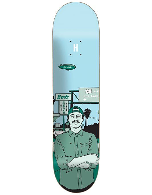 Chocolate Berle City Series Pro Deck - 8""