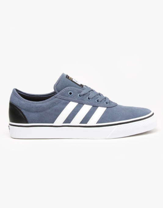 Adidas Adi-Ease ADV Skate Shoes - Ink/White/Core Black