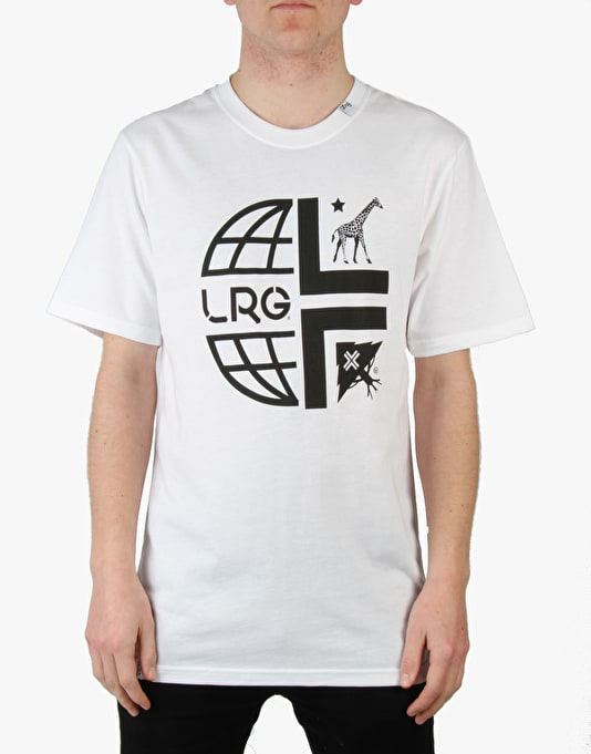 LRG Whole World T-Shirt - White