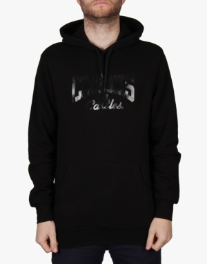 Crooks & Castles Core Logo Pullover Hoodie - Black