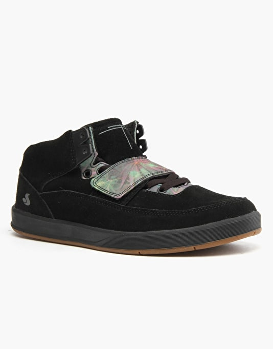 DVS Torey 3 Skate Shoes - Black Suede