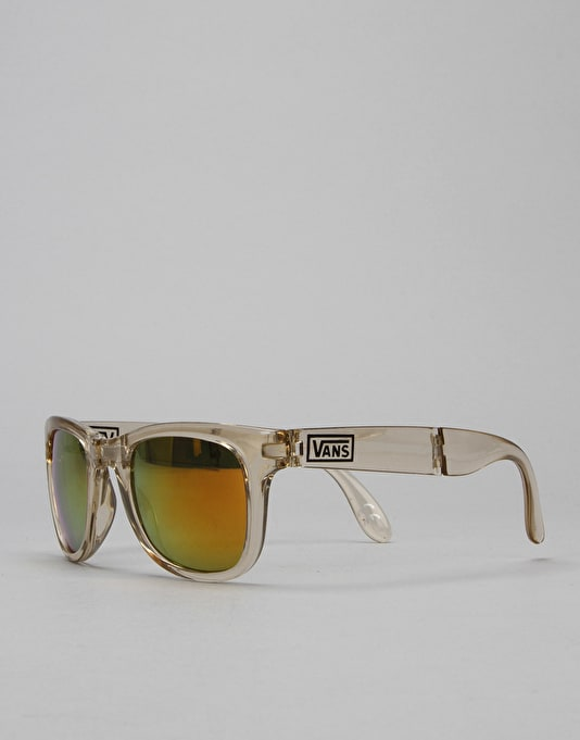 Vans Foldable Spicoli Sunglasses - Transparent Antique