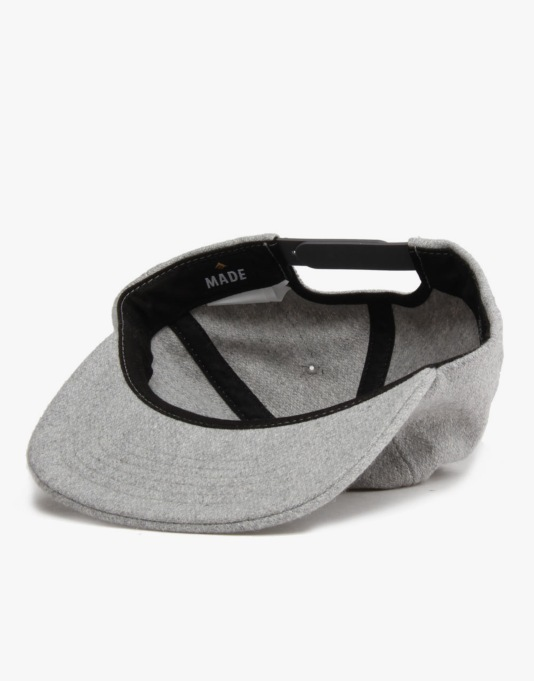 Emerica The A.R. Snapback Cap - Charcoal Heather