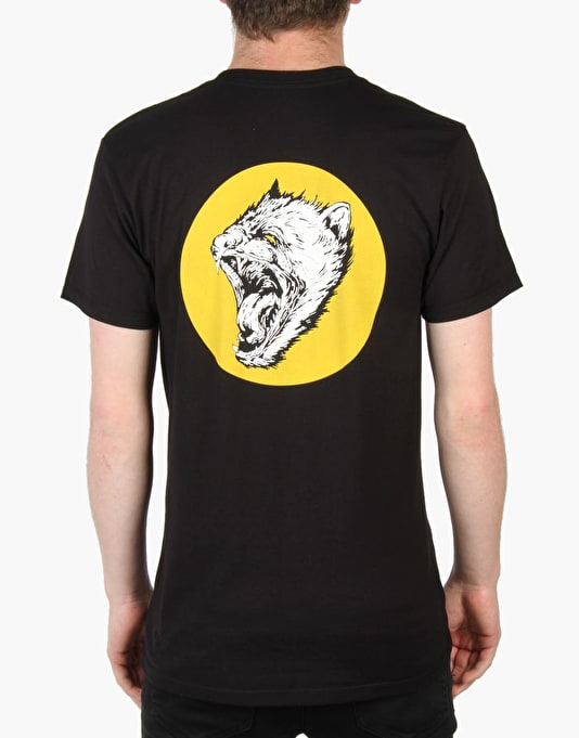 Welcome Tasmanian T-Shirt - Black/Yellow