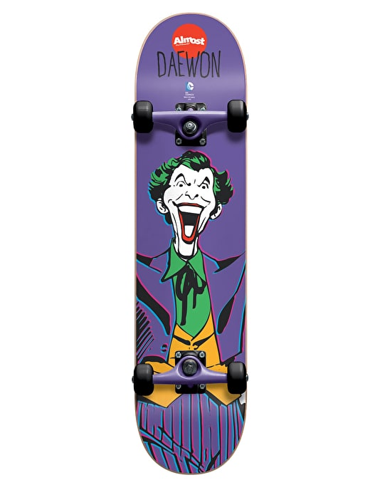 Almost x DC Comics Daewon Joker Complete Skateboard - 7.75""