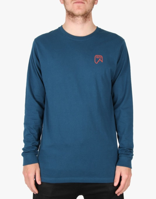 Patagonia L/S Chouinard Ice Tools T-Shirt - Crater Blue