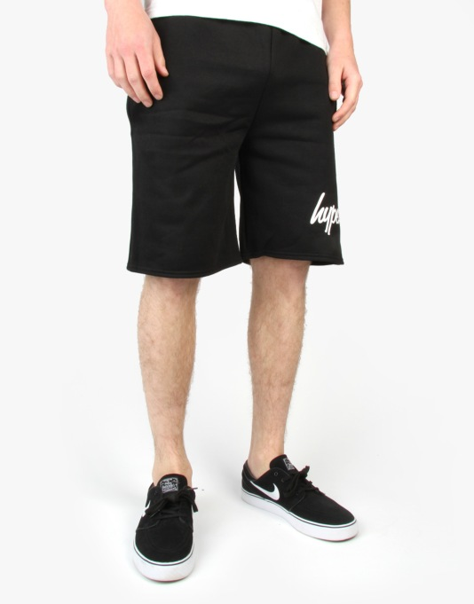 Hype Essential Jersey Shorts - Black