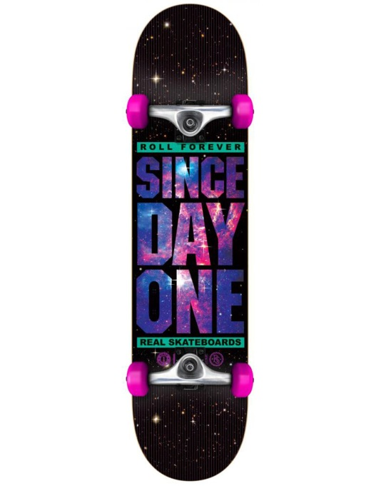 Real SDO Stay Free Complete Skateboard - 7.5""
