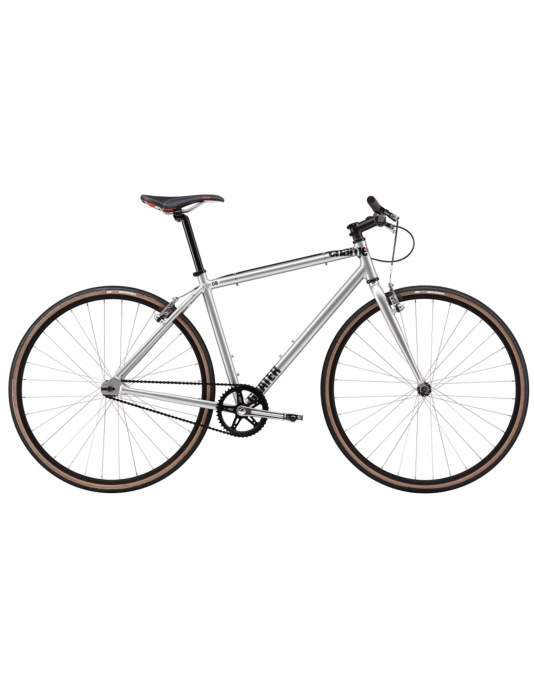 "Charge Grater 2015 Single Speed Bike - 17"" - Silver"