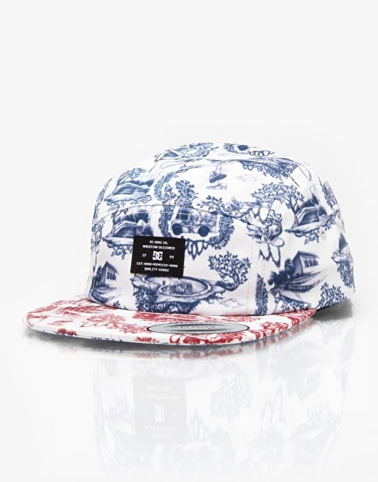 DC Broper 5 Panel Cap - Turtle Dove