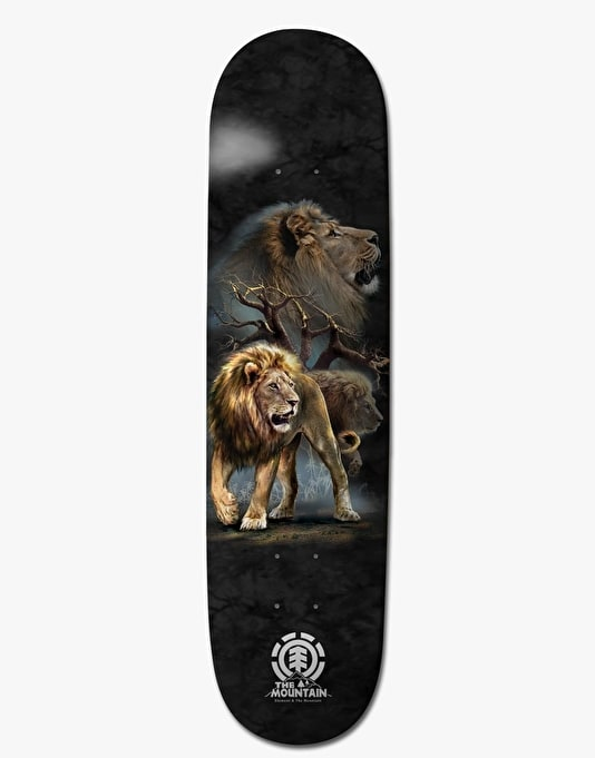 Element Lion Logo Featherlight Pro Deck - 8""