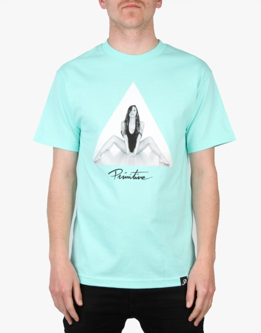 Primitive Angles T-Shirt - Sea Foam