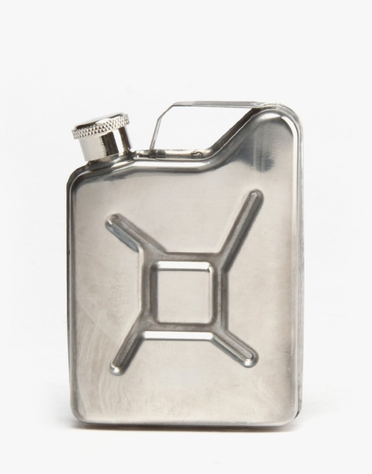 Santa Cruz Fuel Hip Flask - Steel