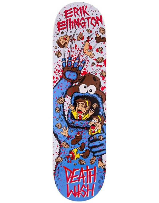 Deathwish Ellington Death Toons 2 Pro Deck - 8.38""