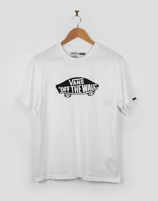 Vans OTW Boys T-Shirt - White/Black