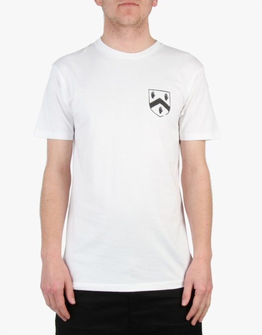 Mighty Healthy x Gino Iannucci Crest T-Shirt - White