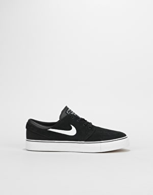 Nike SB Stefan Janoski Boys Skate Shoes - Black/White/Gum/Med Brown