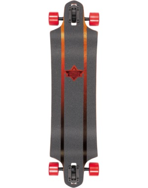 Dusters x Kryptonics Burn Drop Down Longboard - 38
