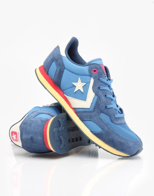 Converse Auckland Racer Shoes - Ocean/Navy/Mouse