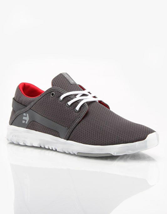 Etnies Scout Shoes - Grey/White/Red