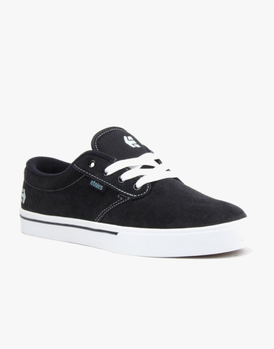 Etnies Jameson 2 Skate Shoes - Navy/White
