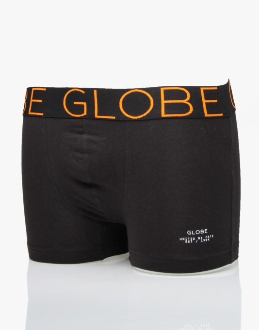 Globe Lindros 2 Pack Jersey Brief - Black/White