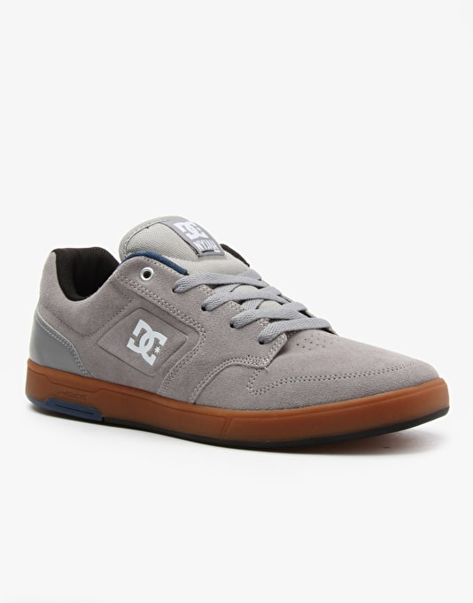 DC Nyjah Skate Shoes - Grey/Gum