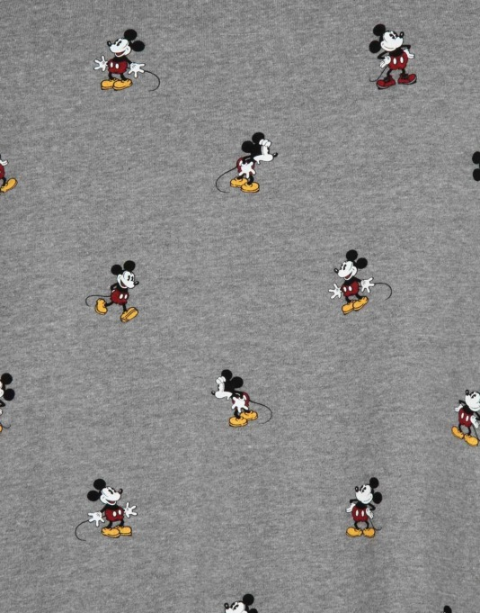 Vans x Disney Mickey Mouse Boys Sweatshirt - Concrete Heather