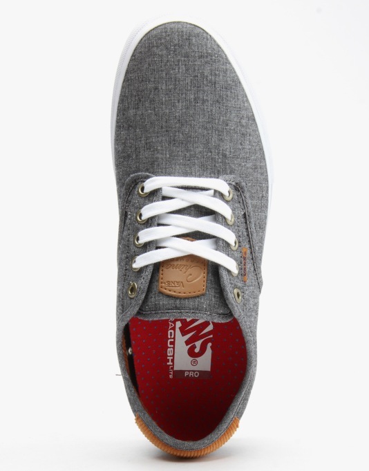 Vans Chima Ferguson Pro Skate Shoes - (Cord Chambray) Navy
