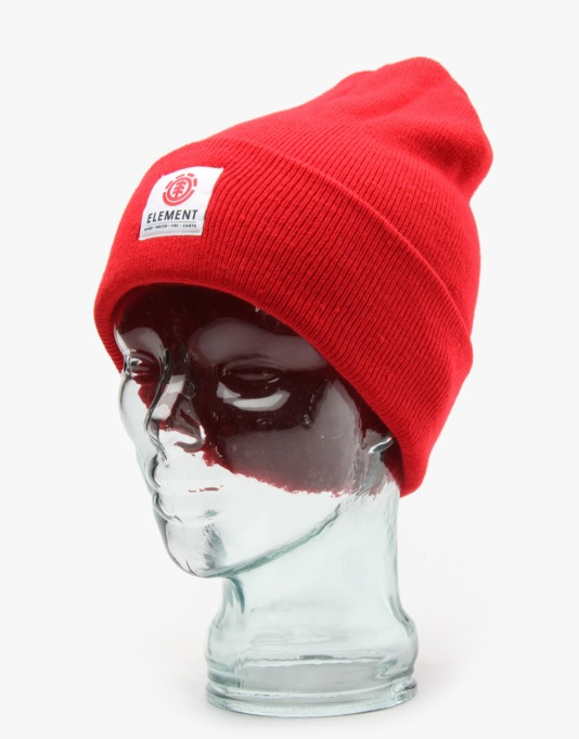Element Dusk Beanie - Element Red
