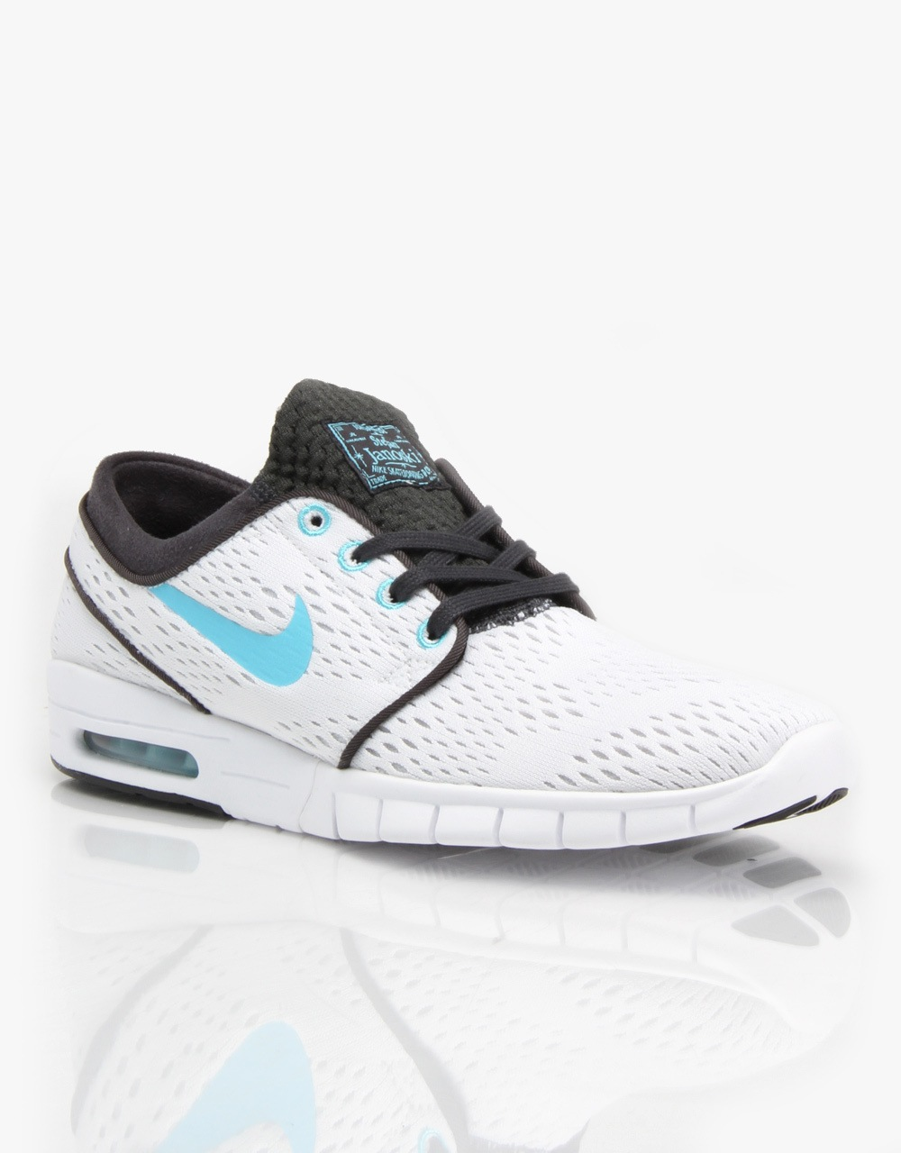 Nike SB Stefan Janoski Max Shoes - White Clearwater Anthracite Black ... 4a40151f2
