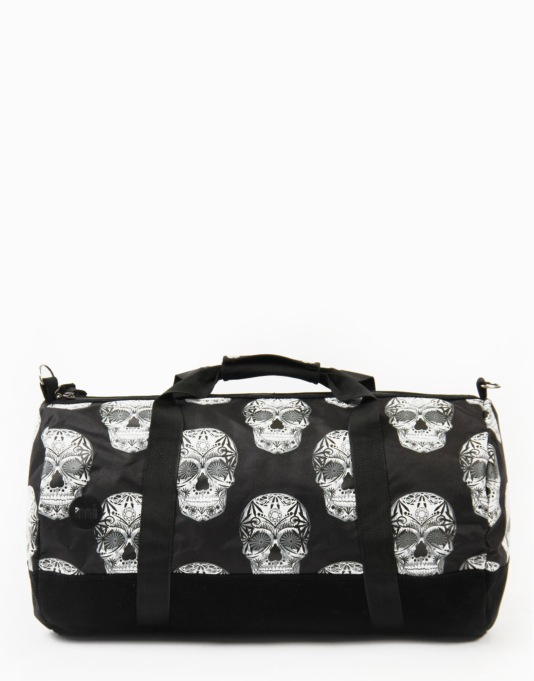 Mi-Pac Skulls Duffel Bag - Black