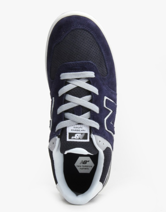 New Balance Numeric Logan-S 636 Skate Shoes - Navy/Grey Suede