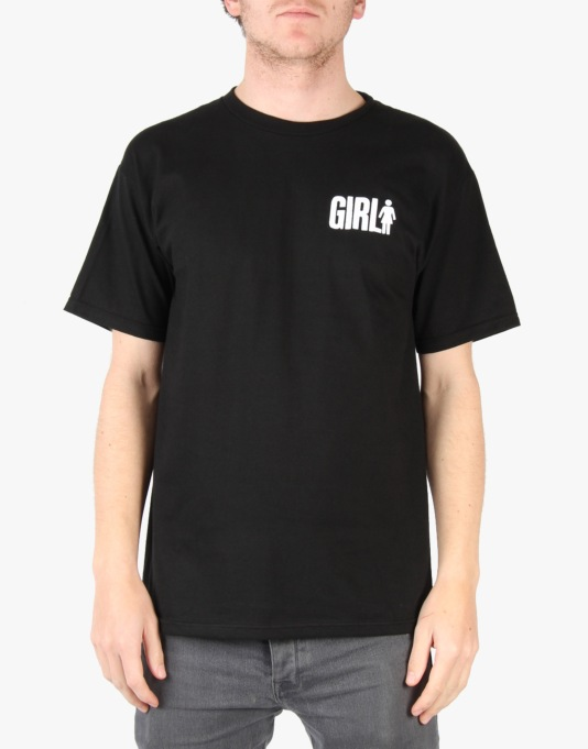 Girl Big Girl T-Shirt - Black
