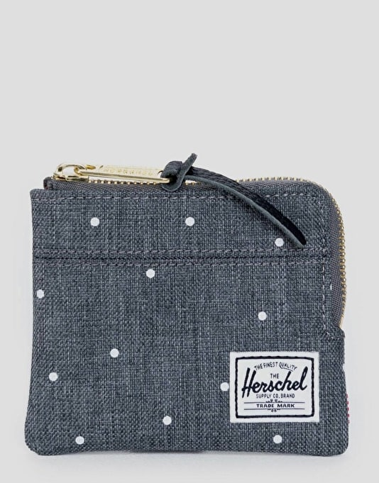 Herschel Supply Co. Johnny Wallet - Scattered Charcoal