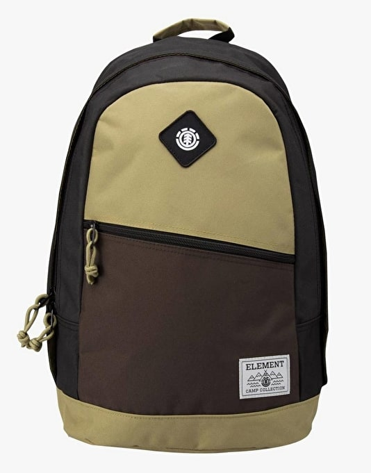 Element Camden Backpack - Cayon Khaki/Brown Bear