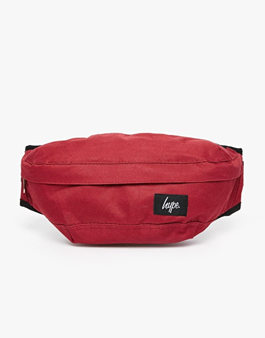 Hype Masterpiece Lined Bum Bag - Burgundy
