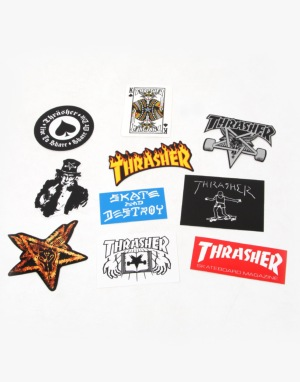 Thrasher Sticker Pack (x10)