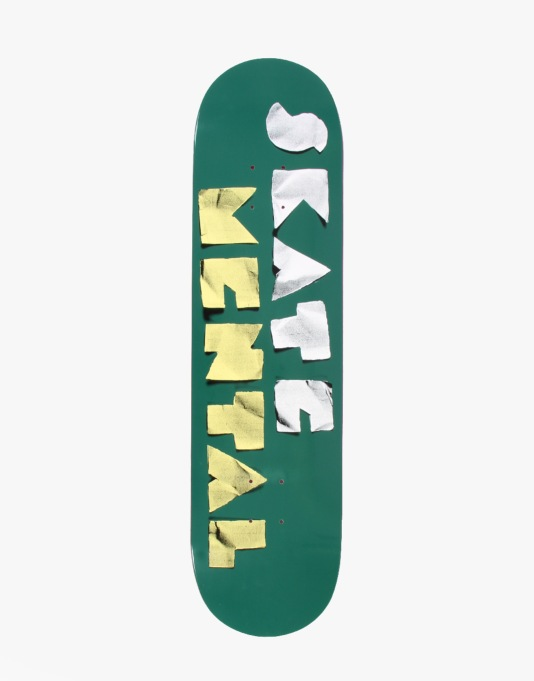 Skate Mental Block Paper Team Deck - 8""
