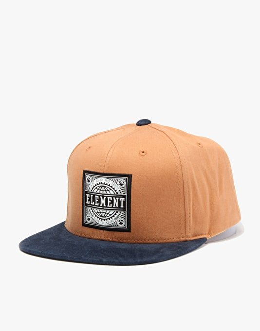 Element Gear Snapback Cap - Maple