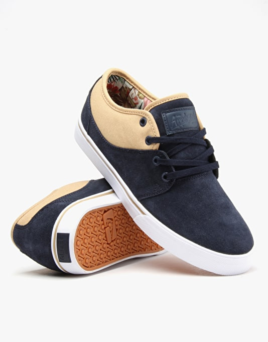 Globe Mahalo (Mark Appleyard Signature) Skate Shoes - Navy/Jungle