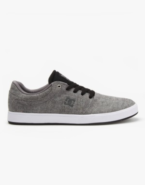 DC Crisis TX SE Skate Shoes - Grey/Black