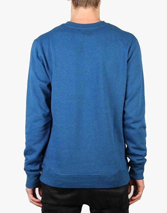 DC Rebel 2 Crew Sweatshirt - Snorkel Blue