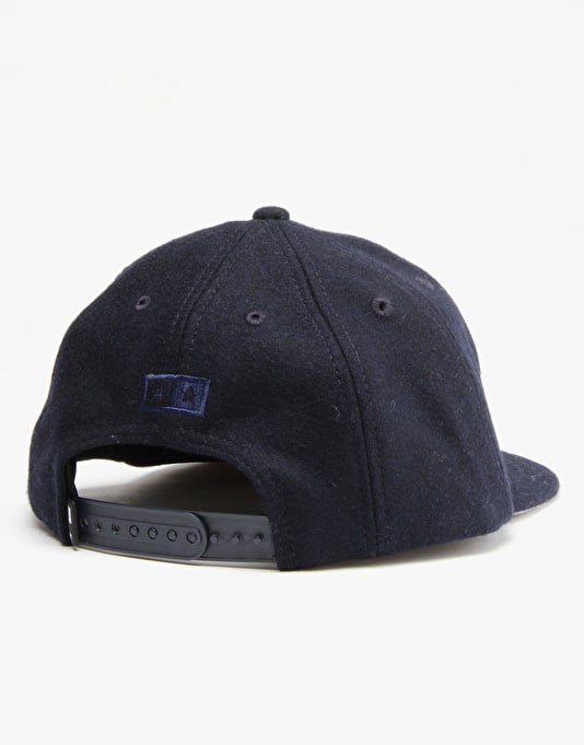 Fourstar x New Era 04 Wool Snapback Cap - Navy